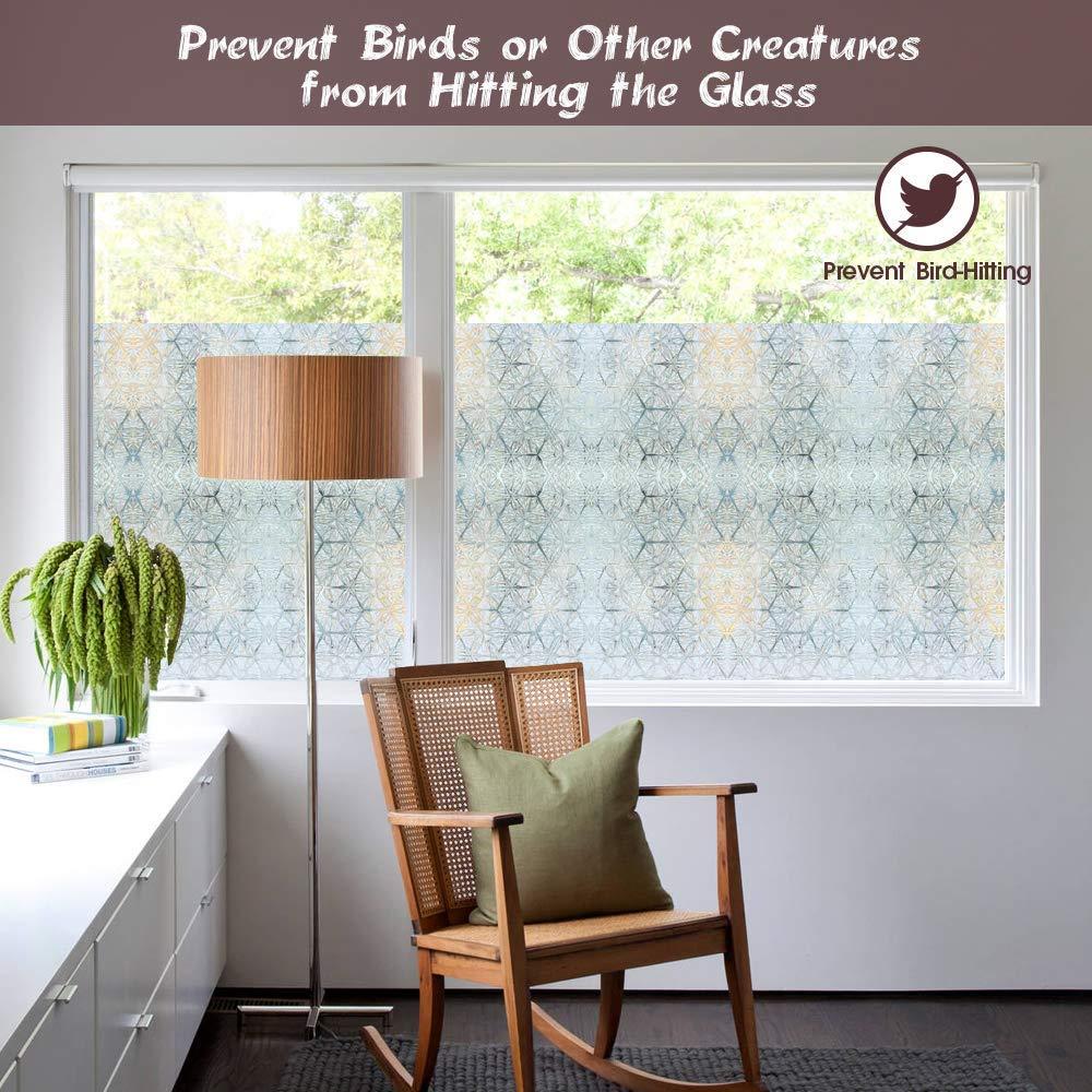 Full Size of Fensterfolie Blickdicht Homein Selbstklebende Folie Fr Fenster Bunt Wohnzimmer Fensterfolie Blickdicht