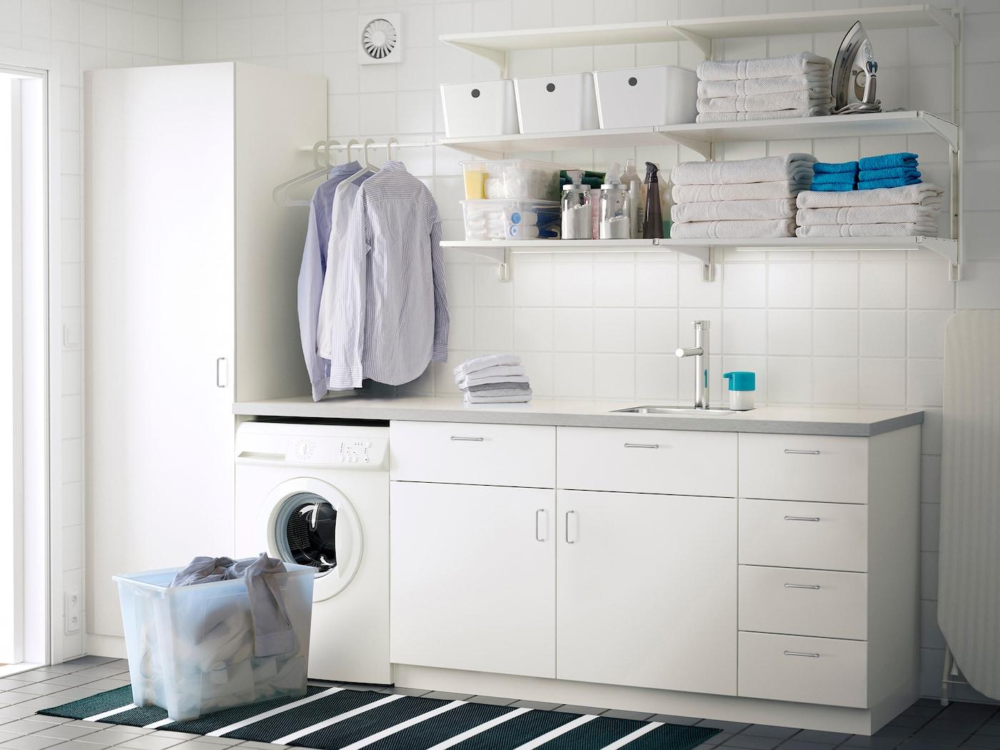 Full Size of Ikea Hauswirtschaftsraum Planen Inspiration Weie Waschkche Einrichten Deutschland Bad Küche Selber Miniküche Betten Bei Modulküche Sofa Mit Schlaffunktion Wohnzimmer Ikea Hauswirtschaftsraum Planen