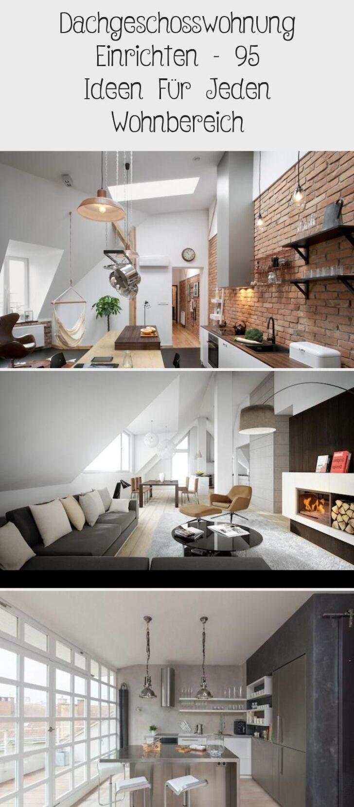 Medium Size of Dachgeschosswohnung Einrichten 95 Ideen Fr Jeden Wohnbereich Kleine Küche Badezimmer Wohnzimmer Dachgeschosswohnung Einrichten