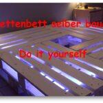 Bauanleitung Bauplan Palettenbett Wohnzimmer Bauanleitung Bauplan Palettenbett Selber Bauen Youtube