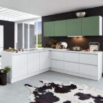 Einrichtungspartnerring Küche Weiß Matt Hängeschrank Höhe Modulküche Ikea Gebrauchte Verkaufen Led Panel Nobilia Kochinsel Arbeitstisch Anrichte Wohnzimmer Küche Salbeigrün