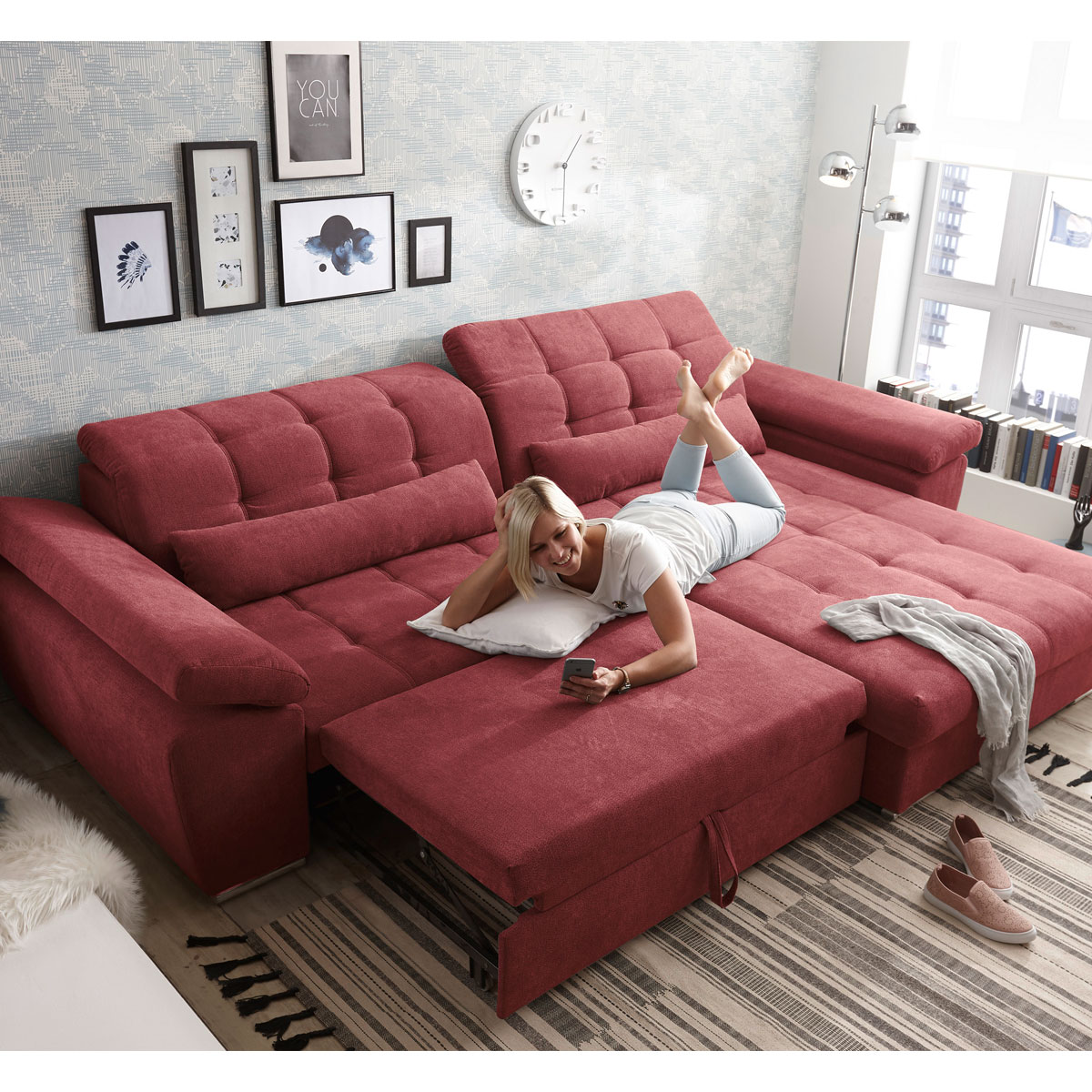 Full Size of Ecksofa Xxl Zuhause Innovation Sofa Berlin Küche Mit Kochinsel Hussen Schilling Schlafzimmer Set Boxspringbett Großes Bett Online Kaufen 3 Sitzer Grau Wohnzimmer Großes Sofa Mit Bettfunktion
