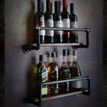 Weinregal Holz Wand Wohnzimmer Weinregal Holz Wand Zhao Rohr Modellierung Bar Weinflasche Wandarmatur Bad Wandtattoo Schlafzimmer Badezimmer Holzfliesen Holzhäuser Garten Holzküche