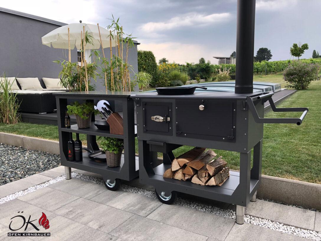Large Size of Outdoor Cookingvon Fen Kirnbauer Im Burgenland Und Niedersterreich Mobile Küche Wohnzimmer Mobile Outdoorküche