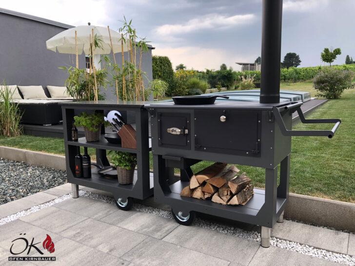 Medium Size of Outdoor Cookingvon Fen Kirnbauer Im Burgenland Und Niedersterreich Mobile Küche Wohnzimmer Mobile Outdoorküche