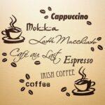 Tapete Küche Kaffee Wandfee Wandtattoo Kche Spruch Kaffeetasse Kaffeebohnen Blende Massivholzküche Fettabscheider L Mit Kochinsel Form Armaturen Wohnzimmer Tapete Küche Kaffee