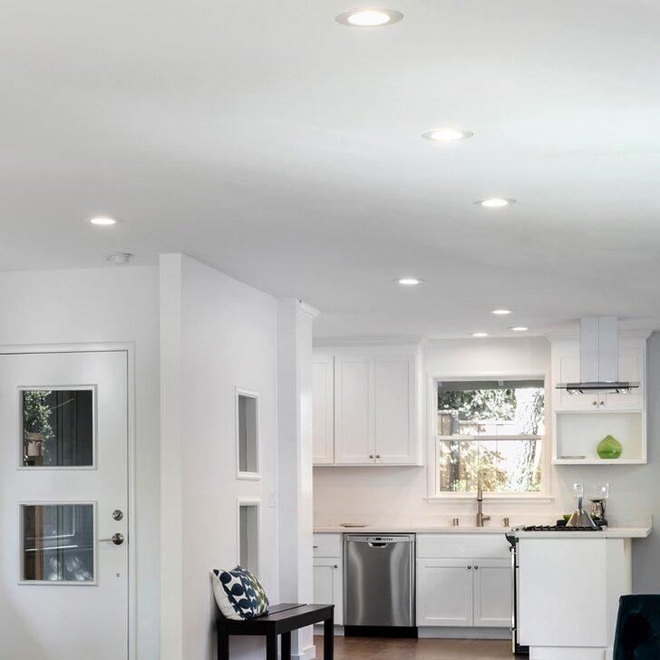 Design Led Wohn Flur Kchen Zimmer Leuchten Schlaf Lampen Chrom Deckenlampe Wohnzimmer Esstisch Deckenlampen Küche Modern Bad Schlafzimmer Küchen Regal Für Wohnzimmer Küchen Deckenlampe