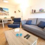 Ferienwohnung Seemann Appartement Whg 03 Mit Terrasse Wohnzimmer Couch Terrasse
