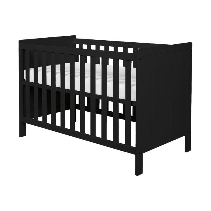 Medium Size of Basicline Babybett Ralph In Schwarz Schwarzes Bett Weiß Schwarze Küche 180x200 Wohnzimmer Babybett Schwarz