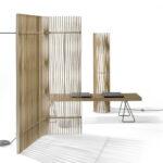 Roethlisberger Raumteiler Paravent Plus Von Atelier Oi Im Garten Bauhaus Fenster Wohnzimmer Paravent Bauhaus