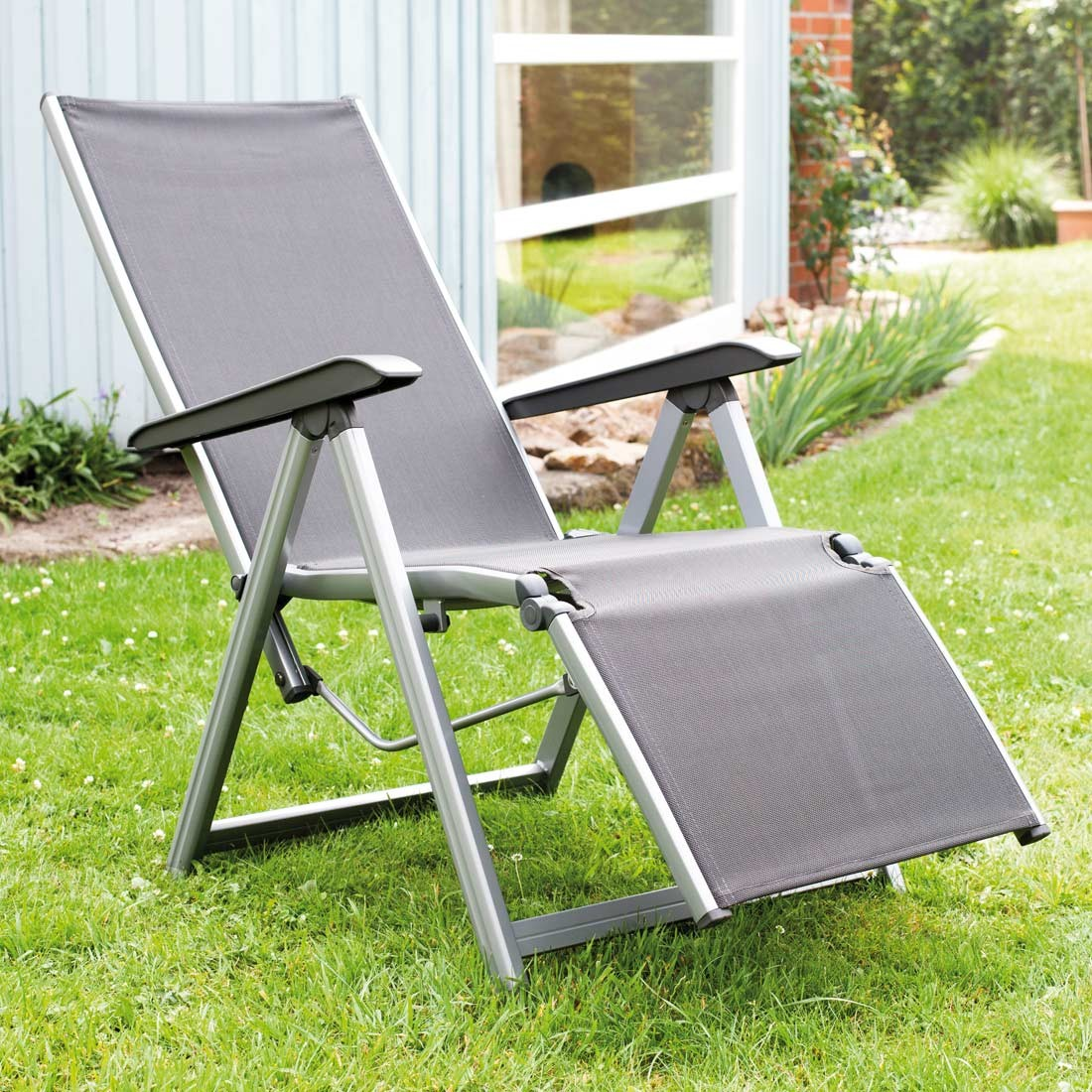 Full Size of Liegesessel Verstellbar Kettler Basic Plus Relaxsessel Aluminium Textilene Garten Und Sofa Mit Verstellbarer Sitztiefe Wohnzimmer Liegesessel Verstellbar