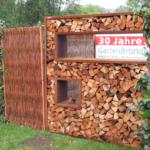 Cortenstahl Holzlege 180 180cm Bronder Shopcom Wohnzimmer Holzlege Cortenstahl