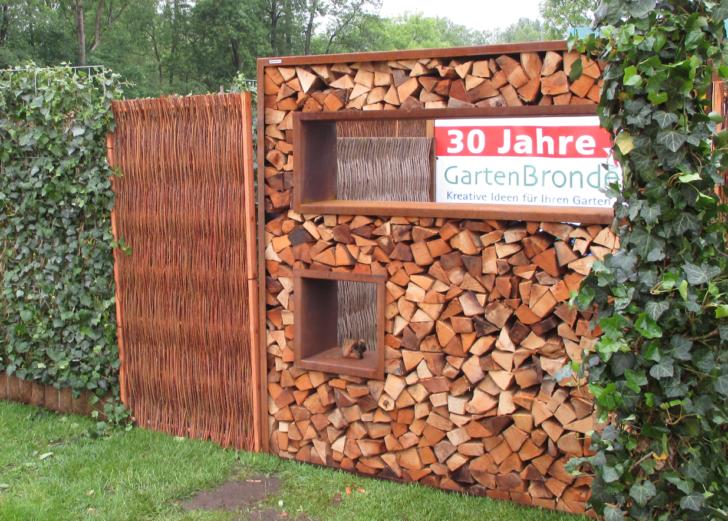Medium Size of Cortenstahl Holzlege 180 180cm Bronder Shopcom Wohnzimmer Holzlege Cortenstahl
