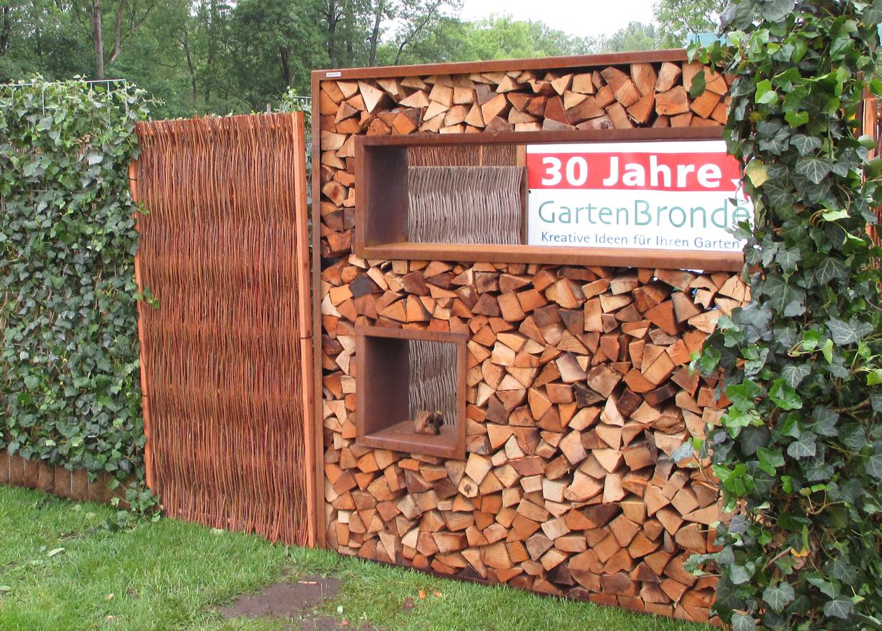 Full Size of Cortenstahl Holzlege 180 180cm Bronder Shopcom Wohnzimmer Holzlege Cortenstahl
