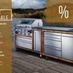 Mobile Outdoorküche Sales Outdoorkchen Ausstellungsstcke Im Angebot Proks Küche Wohnzimmer Mobile Outdoorküche
