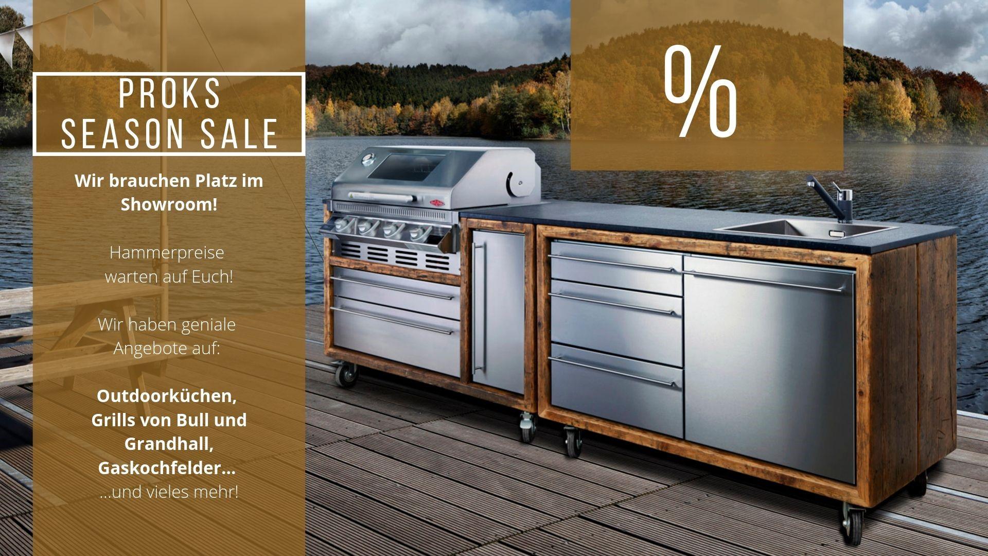 Full Size of Mobile Outdoorküche Sales Outdoorkchen Ausstellungsstcke Im Angebot Proks Küche Wohnzimmer Mobile Outdoorküche