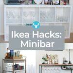 Ikea Hacks Aufbewahrung Eine Low Budget Minibar Fr Deine Wohnung Mit Bildern Diy Betten Bei 160x200 Küche Kaufen Bett Kosten Aufbewahrungssystem Wohnzimmer Ikea Hacks Aufbewahrung