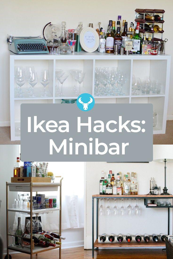 Full Size of Ikea Hacks Aufbewahrung Eine Low Budget Minibar Fr Deine Wohnung Mit Bildern Diy Betten Bei 160x200 Küche Kaufen Bett Kosten Aufbewahrungssystem Wohnzimmer Ikea Hacks Aufbewahrung