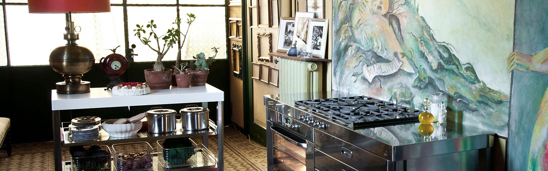 Full Size of Freistehende Küchen Kchen Mbel Kcheninseln Makchen Regal Küche Wohnzimmer Freistehende Küchen