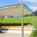 Pergola Holz Modern Selber Bauen Bausatz Kaufen Moderner Sonnenstoren In Der Schweiz Kontraste Aus Alt Und Neu Betten Garten Moderne Deckenleuchte Wohnzimmer Wohnzimmer Holz Pergola Modern