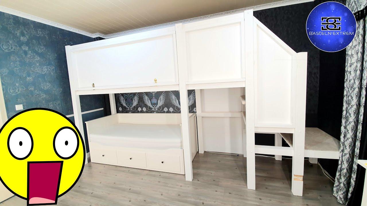 Full Size of Klettergerüst Indoor Diy Ein Auergewhnliches Kinderzimmer Teil 2 Kletterburg Garten Wohnzimmer Klettergerüst Indoor Diy