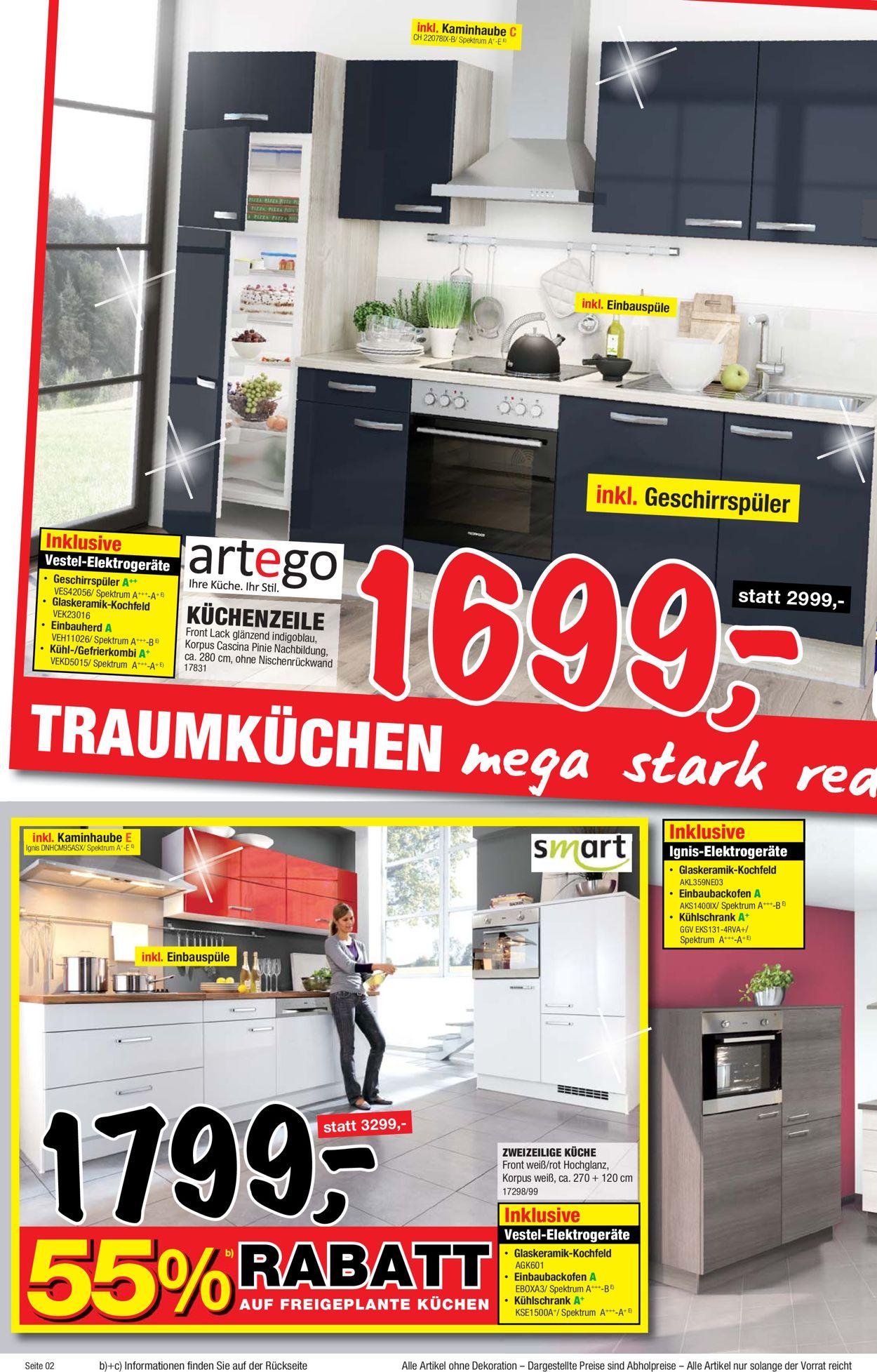 Full Size of Sconto Küchen Aktueller Prospekt 2210 11112019 2 Jedewoche Regal Wohnzimmer Sconto Küchen
