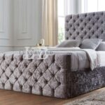Chesterfield Bett Samt Grau The Luxury Bed Co Kristall Mit Kopfteil Matratze Sofa Stoff 120x200 Weiß Clinique Even Better Make Up 180x200 Bettkasten Boxspring Wohnzimmer Chesterfield Bett Samt Grau