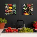 Küchen Glasbilder Glasbild Kchenrckwand Kche Querformat Zitrone Küche Bad Regal Wohnzimmer Küchen Glasbilder
