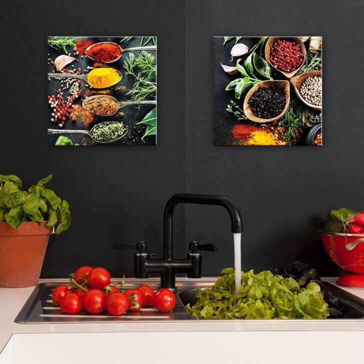 Medium Size of Küchen Glasbilder Glasbild Kchenrckwand Kche Querformat Zitrone Küche Bad Regal Wohnzimmer Küchen Glasbilder