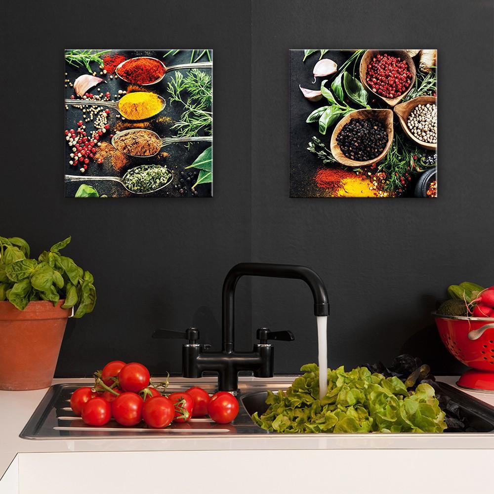 Full Size of Küchen Glasbilder Glasbild Kchenrckwand Kche Querformat Zitrone Küche Bad Regal Wohnzimmer Küchen Glasbilder