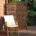 Paravent Bambus Balkon Skagen Hoch Garten Bett Wohnzimmer Paravent Bambus Balkon