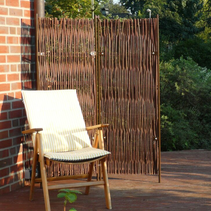Medium Size of Paravent Bambus Balkon Skagen Hoch Garten Bett Wohnzimmer Paravent Bambus Balkon