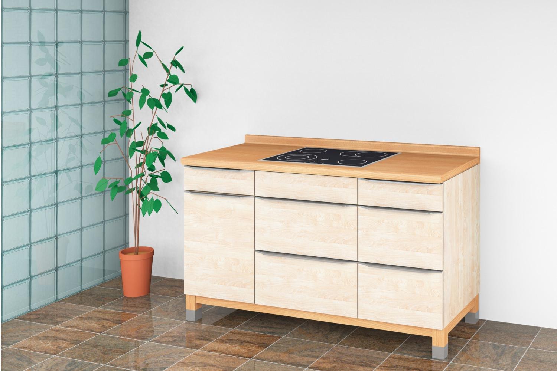 Full Size of Modulküchen Modulkche Ohne Tren Wohnen Leben Genuss Wohnzimmer Modulküchen