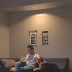 Philips Hue Gu10 Wie Gro Sollte Der Abstand Zwischen Den Deckenstrahler Wohnzimmer Wandbilder Komplett Stehlampe Pendelleuchte Schrank Heizkörper Decken Wohnzimmer Deckenspots Wohnzimmer