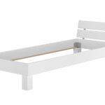 Massivholzbett Buche Wei Bettgestell Holzbett Real Bett 100x200 Weiß Betten Wohnzimmer Metallbett 100x200