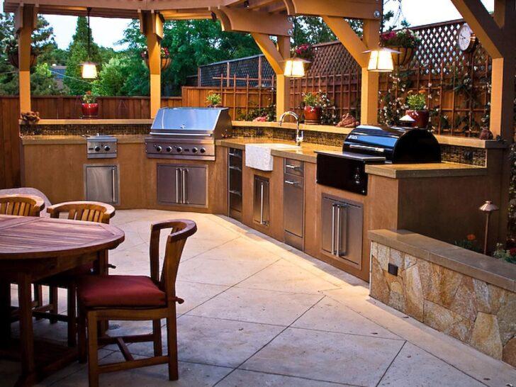 Medium Size of Amerikanische Outdoor Küchen Schrecklich Clevere Ideen Fr Kche Beleuchtung Design Küche Kaufen Amerikanisches Bett Regal Betten Edelstahl Wohnzimmer Amerikanische Outdoor Küchen