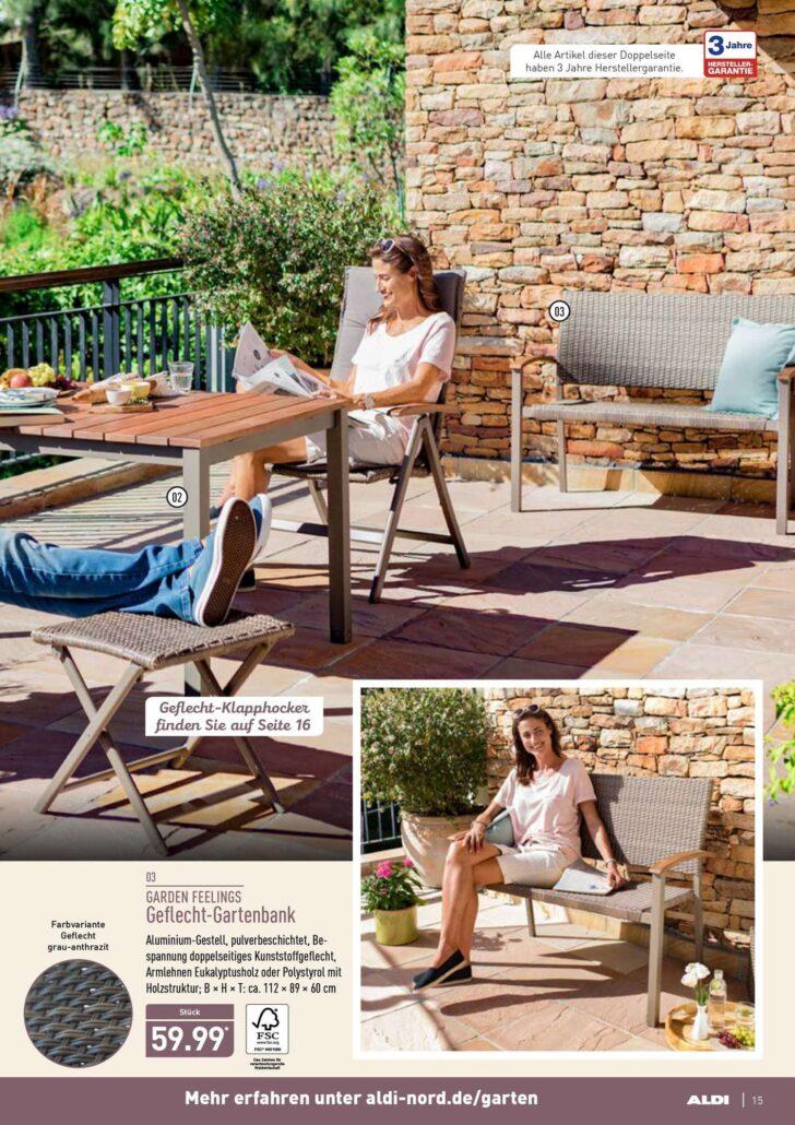Medium Size of Aldi Gartenbank Nord Jeden Tag Besonders Einfach 14052018 19052018 Relaxsessel Garten Wohnzimmer Aldi Gartenbank