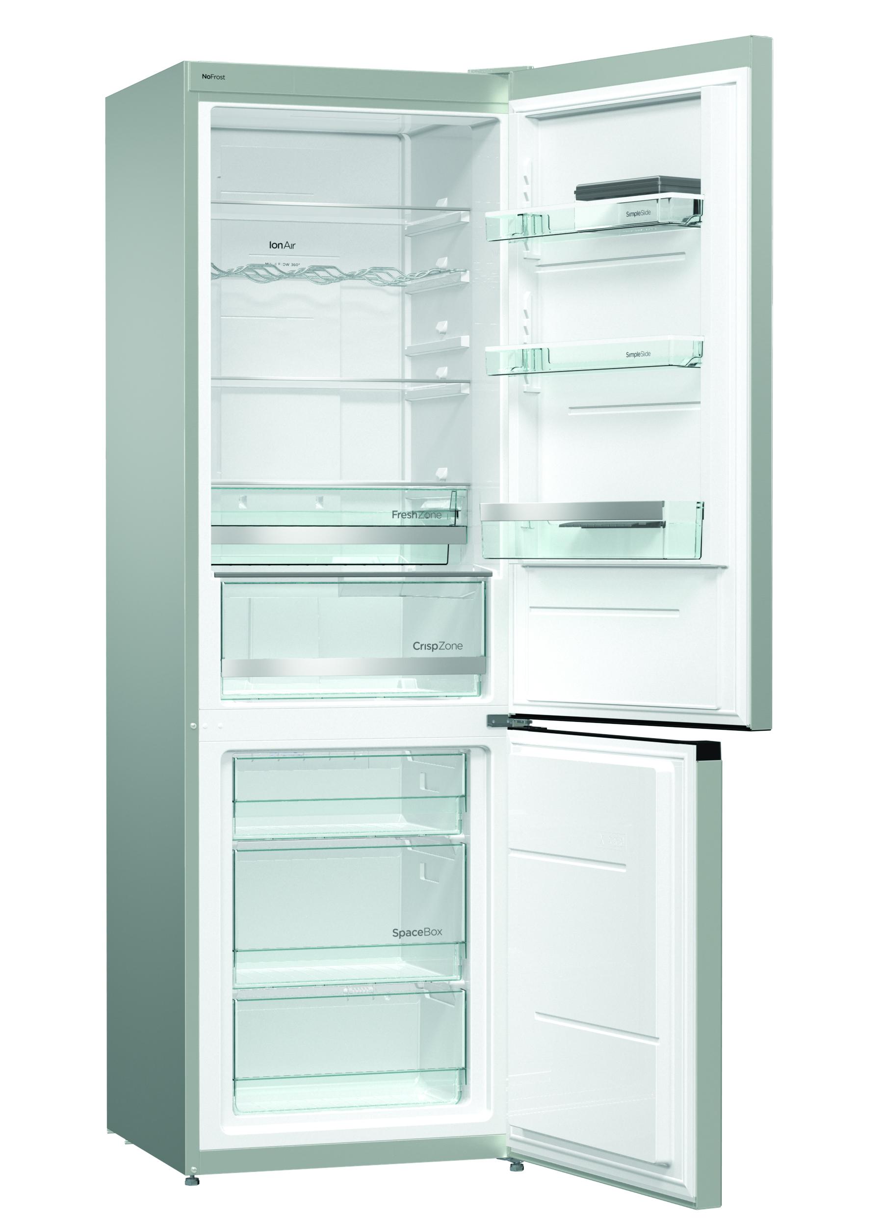 Full Size of Real Küchen Gorenje Stand Khl Gefrier Kombination Inoa Nrk6192mx4 Regal Wohnzimmer Real Küchen
