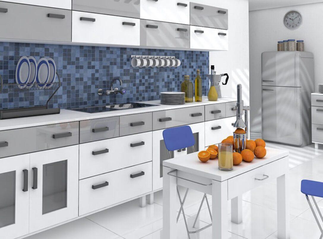Large Size of Küchen Fliesenspiegel Küche Regal Glas Selber Machen Wohnzimmer Küchen Fliesenspiegel