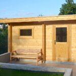 Wohnzimmer Gartensauna Bausatz