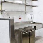 Küche Edelstahl Wohnzimmer Küche Professionelle Kche Gardinen Für Die Aluminium Verbundplatte Modulare Kaufen Günstig Günstige Mit E Geräten Möbelgriffe Erweitern Sitzgruppe