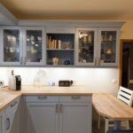Küche Blau Wohnzimmer Landhaus Kche Blau Mit Spezieller Holzmaserung Hochglanz Küche Griffe Gardine Led Deckenleuchte Was Kostet Eine Neue Pentryküche Schrankküche Auf Raten