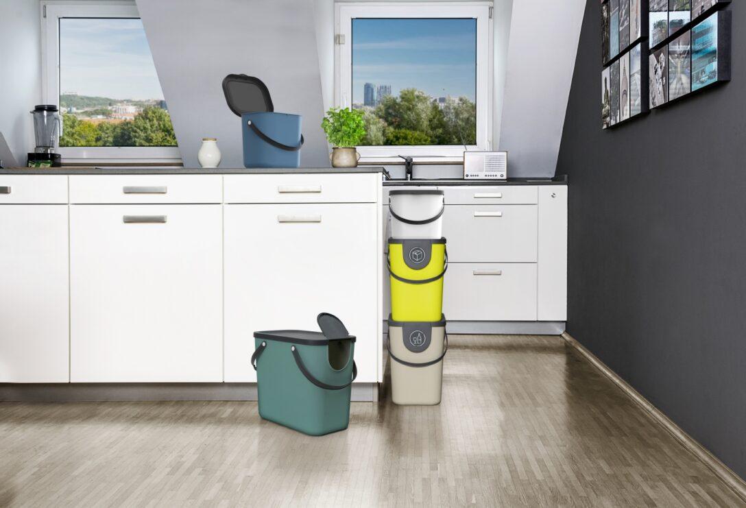 Large Size of Recycling Mllsystem Albula 6 L Horizon Blue Jetzt Müllsystem Küche Wohnzimmer Müllsystem