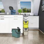 Recycling Mllsystem Albula 6 L Horizon Blue Jetzt Müllsystem Küche Wohnzimmer Müllsystem