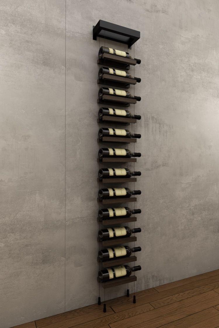 Full Size of Weinregal Wand Modern Buoyant Wall Mounted Cable Based Wine Racks Will Decorate Any Nischenrückwand Küche Wandbilder Schlafzimmer Regal Glastrennwand Dusche Wohnzimmer Weinregal Wand Modern