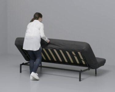 Couch Ausklappbar Wohnzimmer Ikea Nyhamn Anleitung Vom 3 Er Sofa Zum Bett Youtube Ausklappbar Ausklappbares