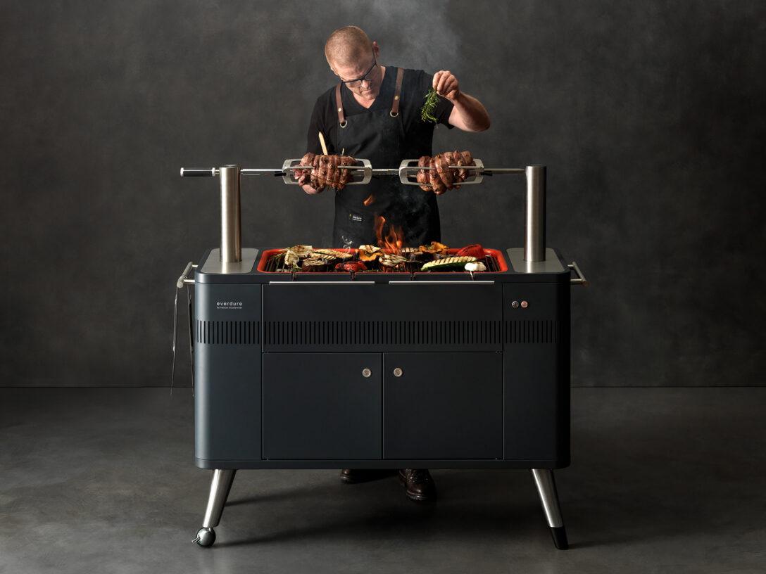 Large Size of Mobile Outdoorküche Aussteller Produkte Everdure By Heston Blumenthal Küche Wohnzimmer Mobile Outdoorküche