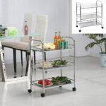 Kchenwagen Servierwagen Beistellwagen Rollwagen Garten Küche Wohnzimmer Küchenwagen Servierwagen