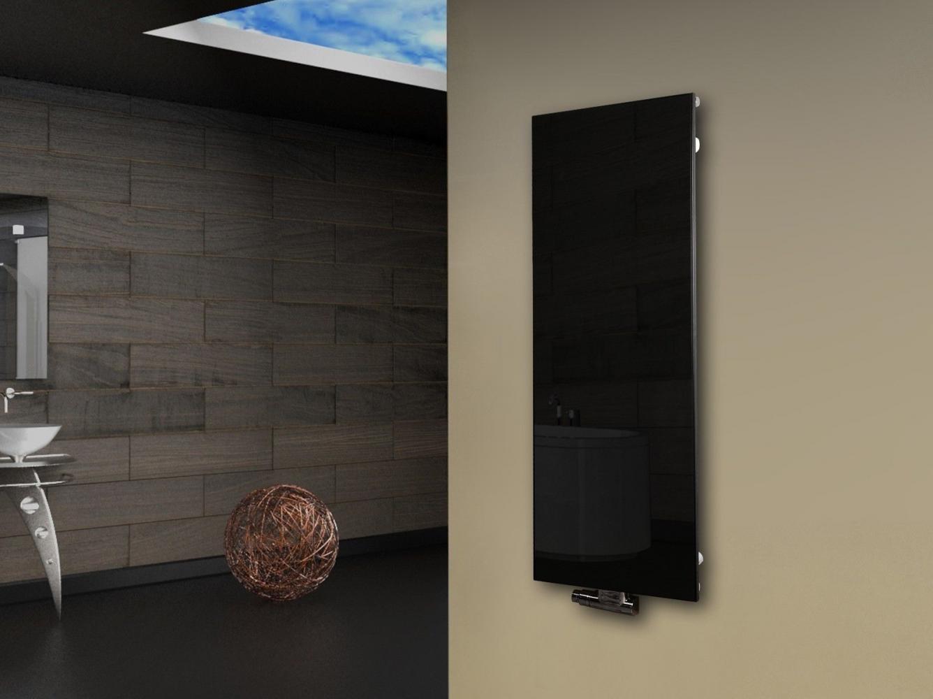 Full Size of Heizkörper Schwarz Badheizkrper Design Montevideo Glasfront 120x47cm 799 W Für Bad Bett Weiß Schwarze Küche 180x200 Wohnzimmer Badezimmer Wohnzimmer Heizkörper Schwarz