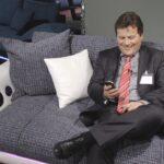 Sofa Mit Eingebauten Lautsprechern Couch Musikboxen Lautsprecher Und Led Licht Integriertem Big Bluetooth Poco Trendline Trendsetter Multimedia Farbiger Wohnzimmer Sofa Mit Musikboxen